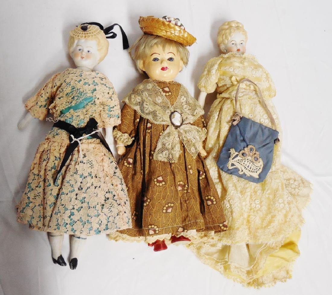 Lot of 3 Dolls