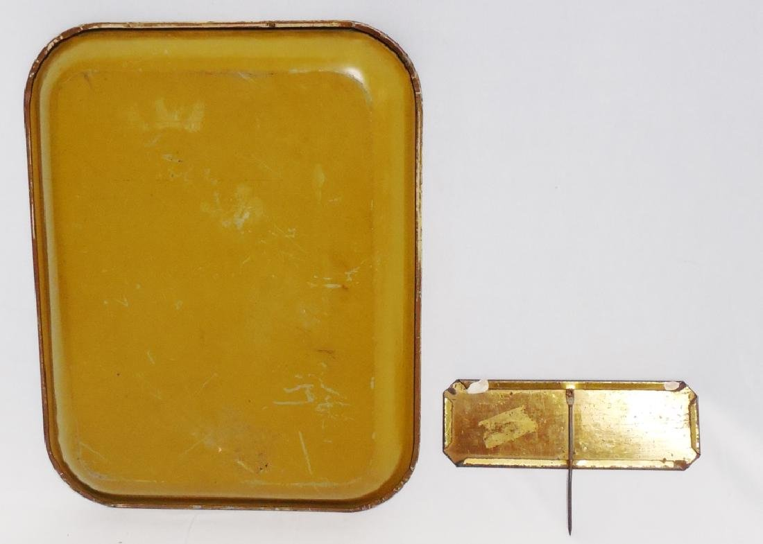 """Serving Tray and """"Finest Selected"""" Sign with Stake - 2"""