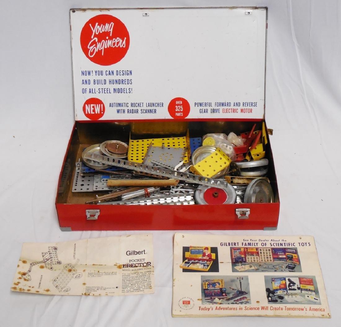 Gilbert Erector The Rocket Launcher Set No. 10201