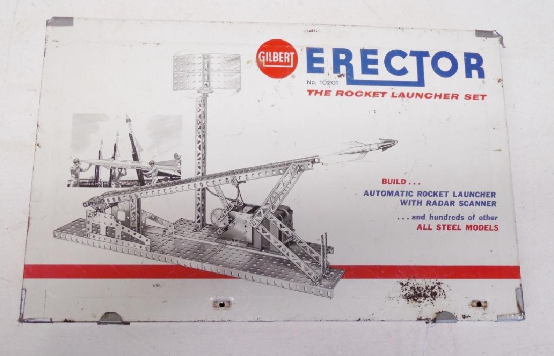 Gilbert Erector The Rocket Launcher Set No. 10201 - 2