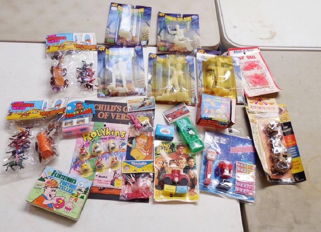 Lot of Child's Toys in Blister Packs