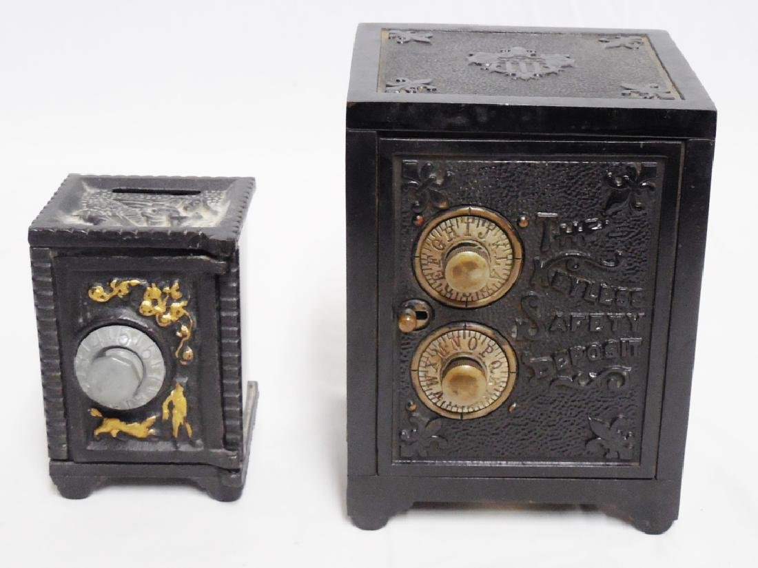 Lot of 2 Safe Banks