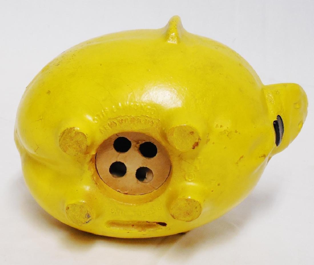 Wooden Pig Anti-Hitler Bank - 3
