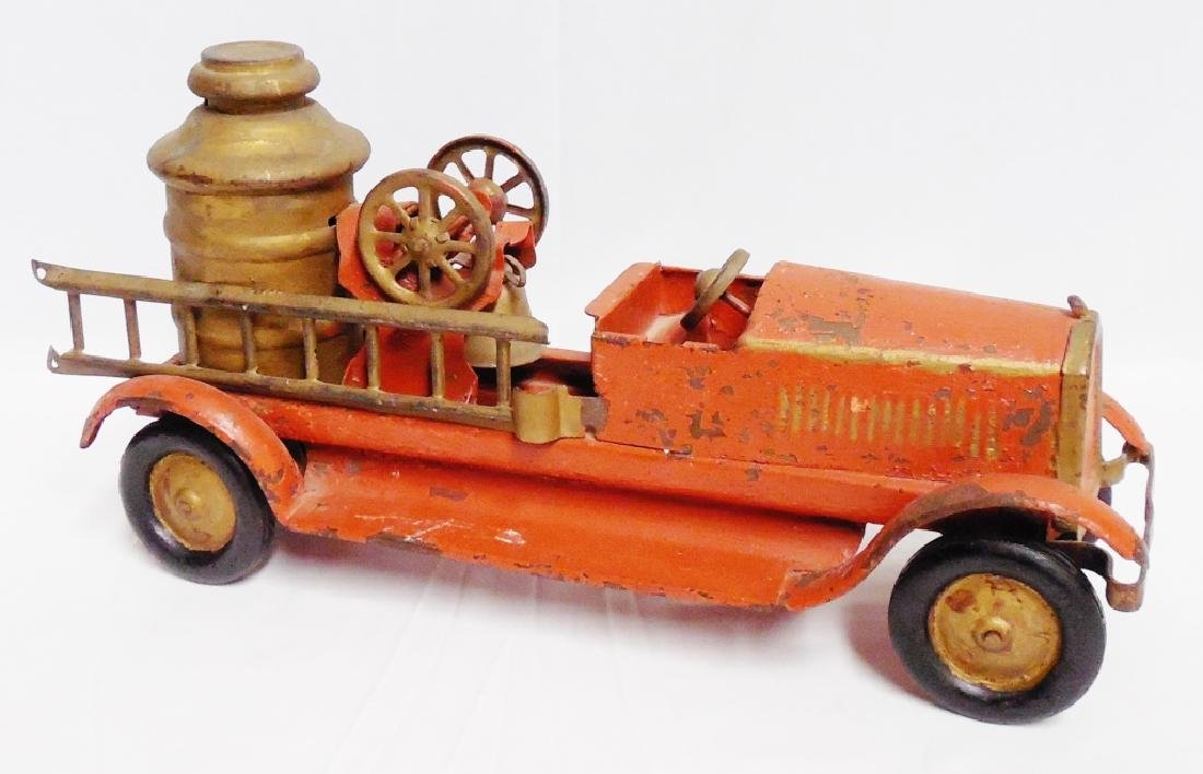 Metal Fire Truck by Turner Toys NOTE: REPAINTED