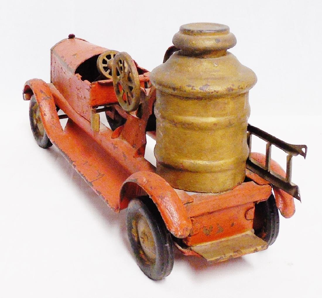 Metal Fire Truck by Turner Toys NOTE: REPAINTED - 3
