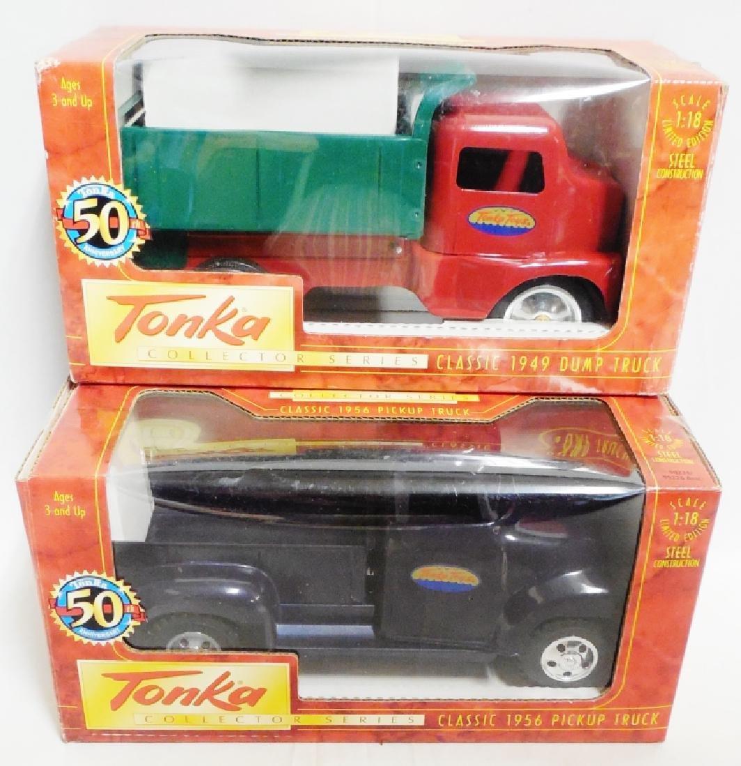 Lot of 2 50th Anniversary Tonka Trucks