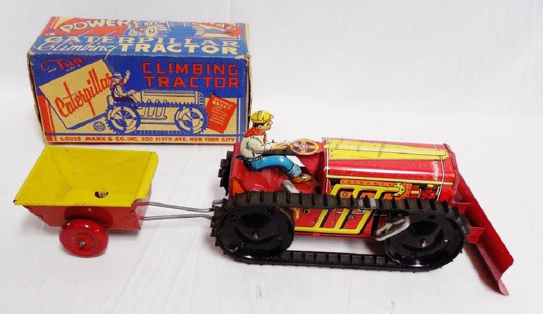 Tin Power Caterpillar Climbing Tractor
