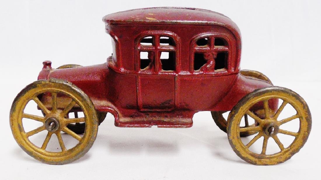 Cast Iron Vintage Car Bank