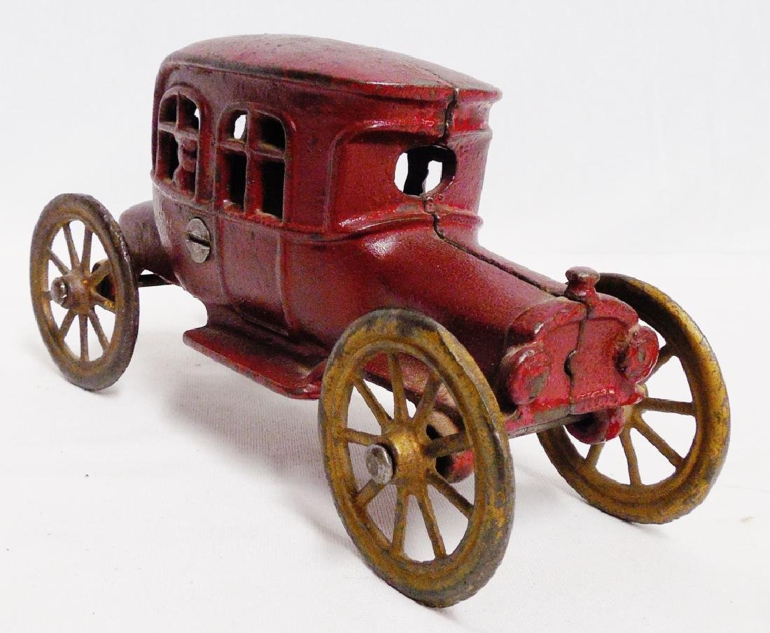 Cast Iron Vintage Car Bank - 2