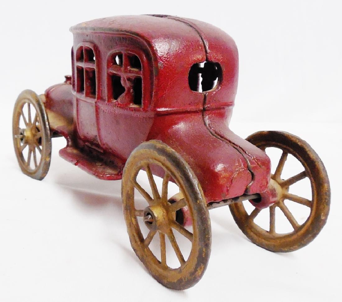 Cast Iron Vintage Car Bank - 3