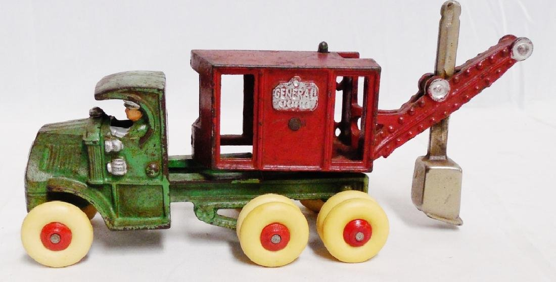 Cast Iron Swivel Work Truck