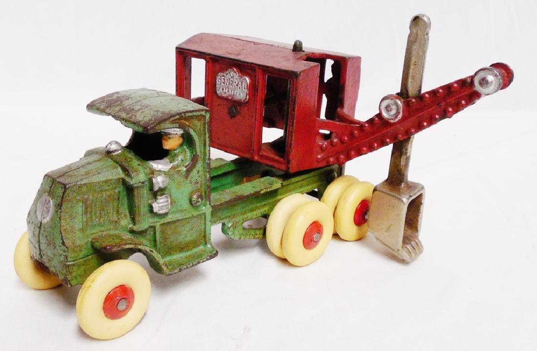 Cast Iron Swivel Work Truck - 2