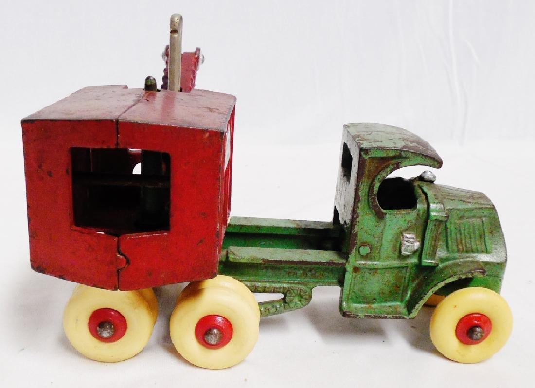 Cast Iron Swivel Work Truck - 3