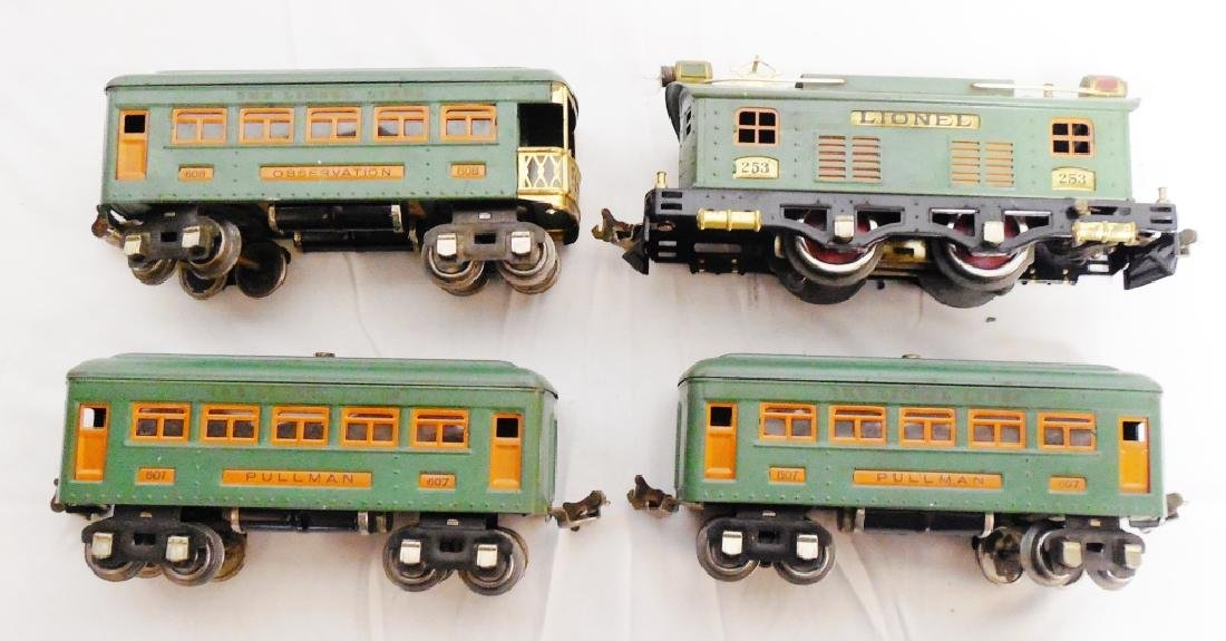 Lot of 4 Lionel Trains