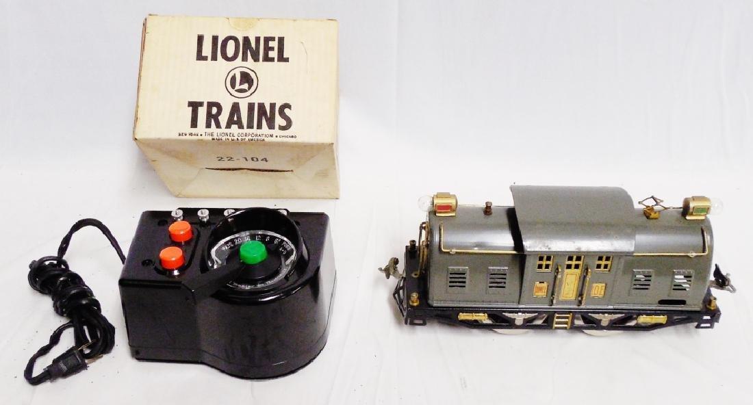 "Lionel Transformer and ""Super"" Motor Car"