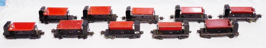 Lot of 10 Lionel Train Cars