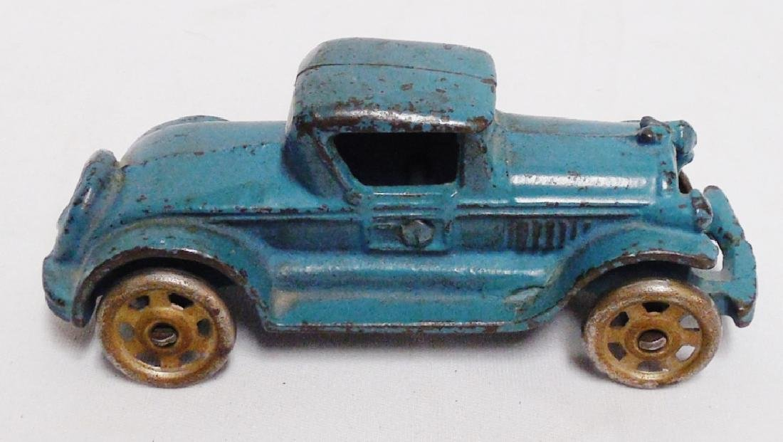 Cast Iron Toy Car with Metal Wheels