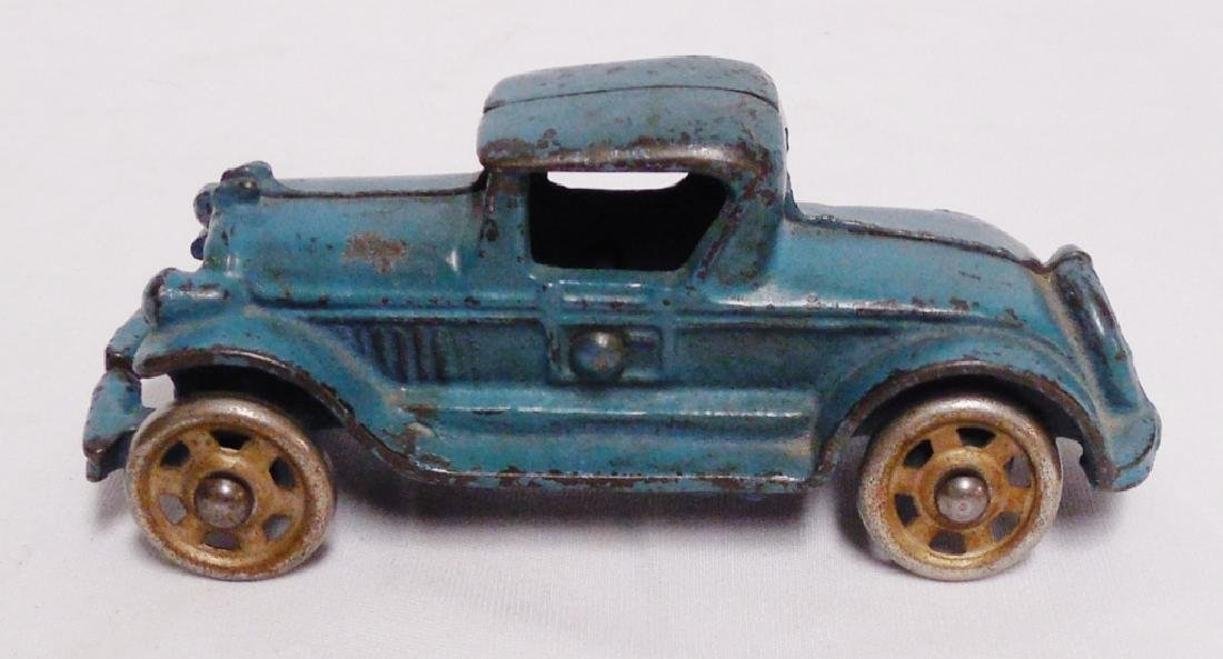 Cast Iron Toy Car with Metal Wheels - 2