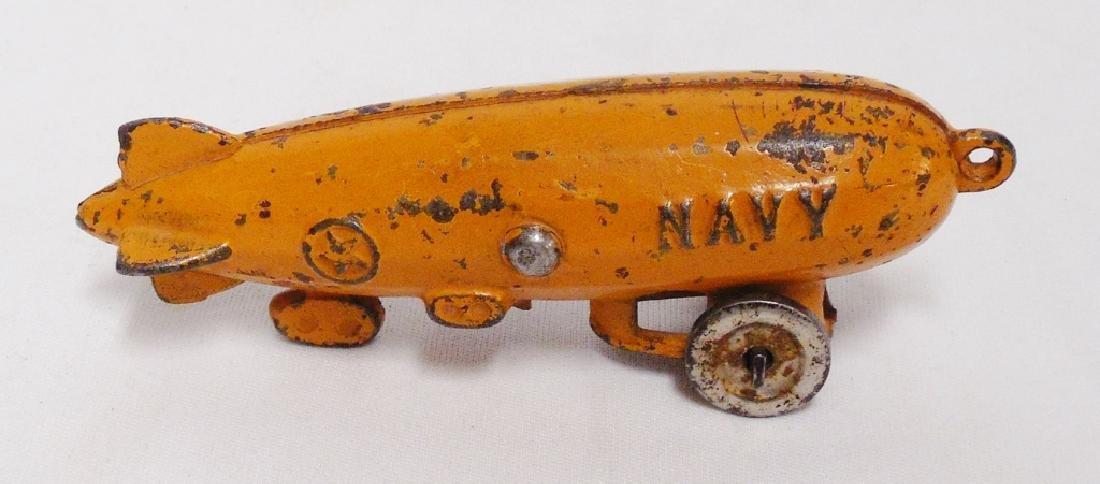 "Cast Iron ""Navy"" Zeplin - 2"