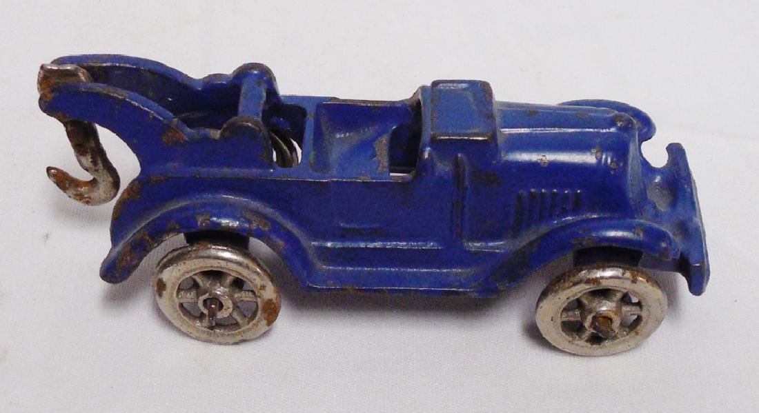 Cast Iron Tow Truck Marked 1952 5B - 2