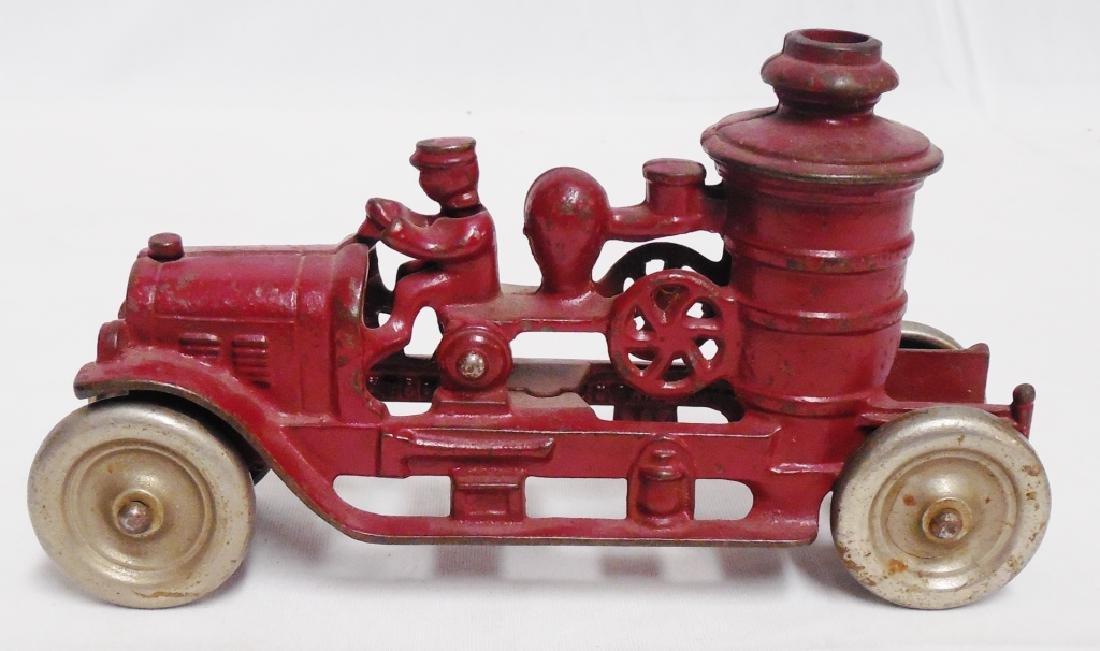 Cast Iron Kenton Fire Pumper Truck