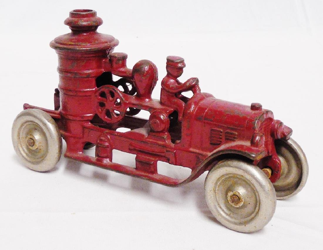 Cast Iron Kenton Fire Pumper Truck - 2