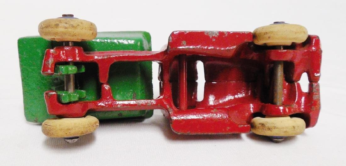 Cast Iron Dump Truck with Rubber Wheels - 3
