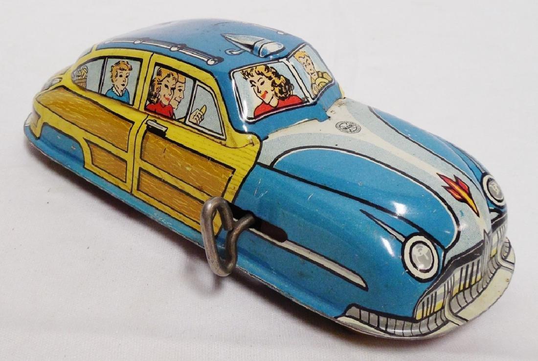 Tin Windup Car