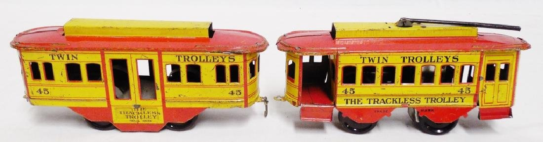 """Twin Trolley's #45 """"The Trackless Trolley"""""""