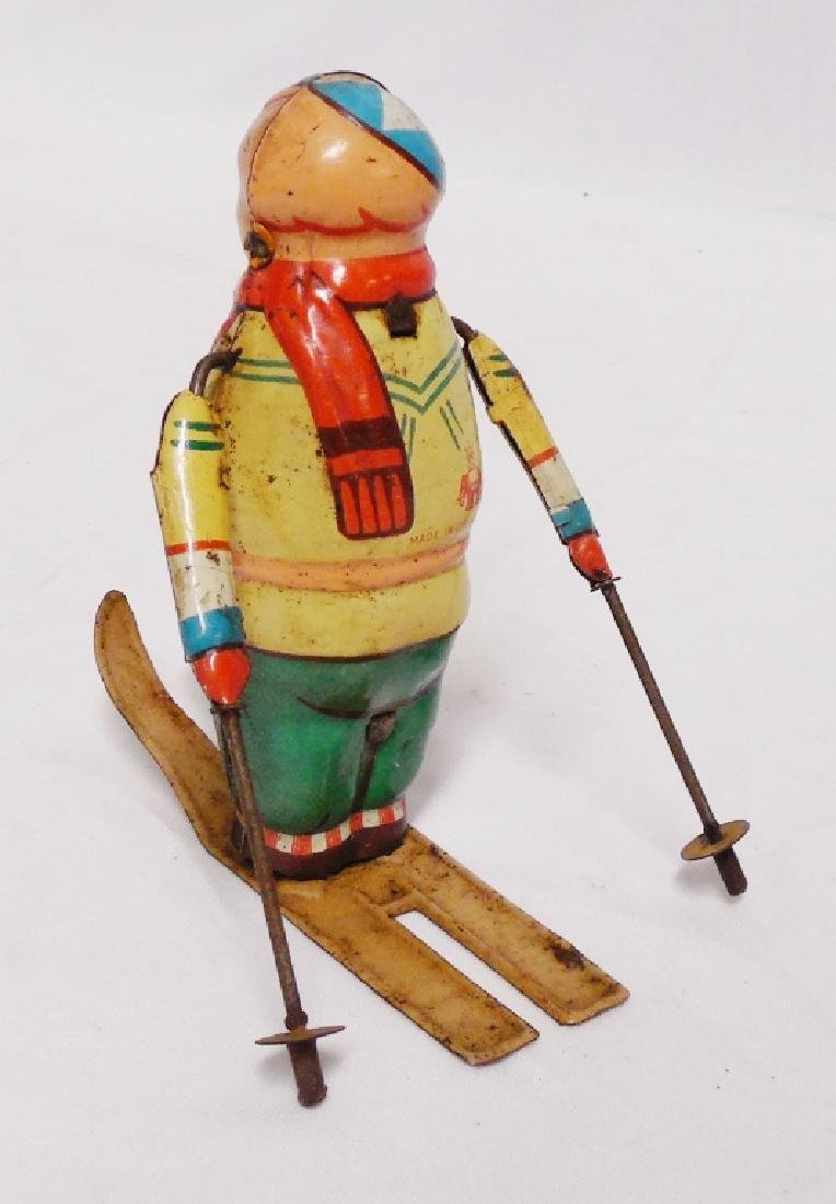 "Tin Man Skiing ""Made in US-Zone Germany"" - 3"