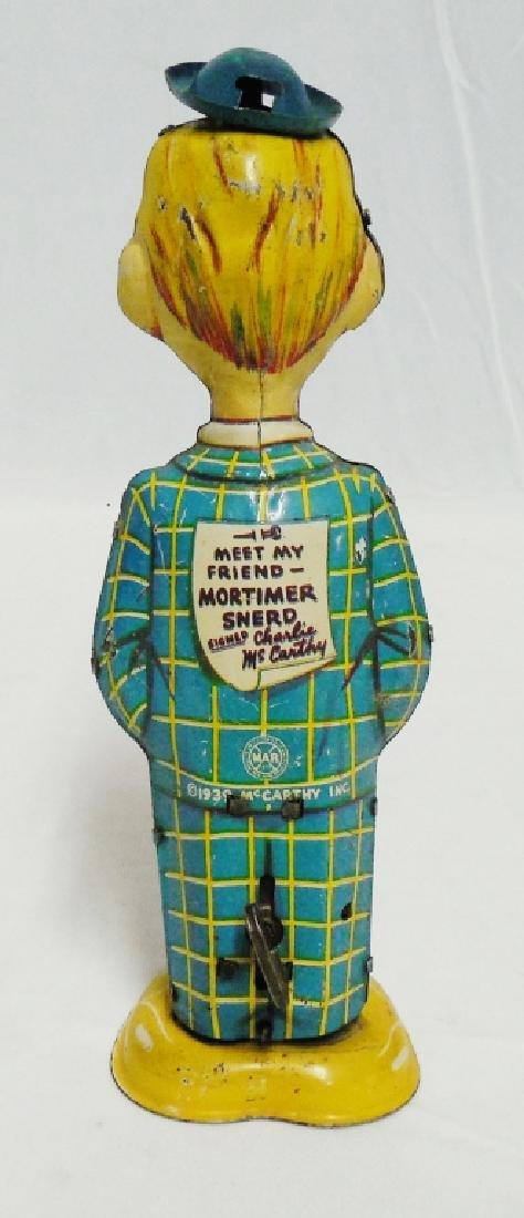 1939 Marx Tin Windup Mortimer Snerd - 2