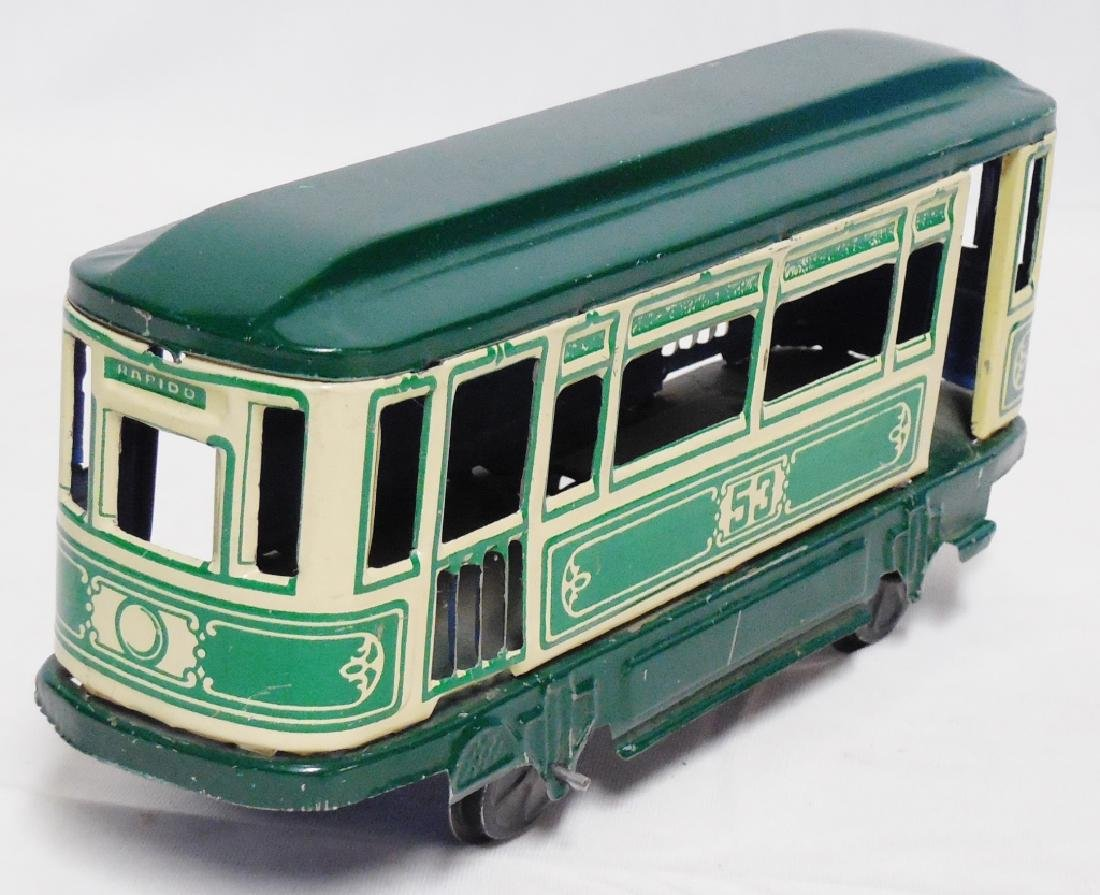 Rapido 53 Tin Windup Trolley - 2