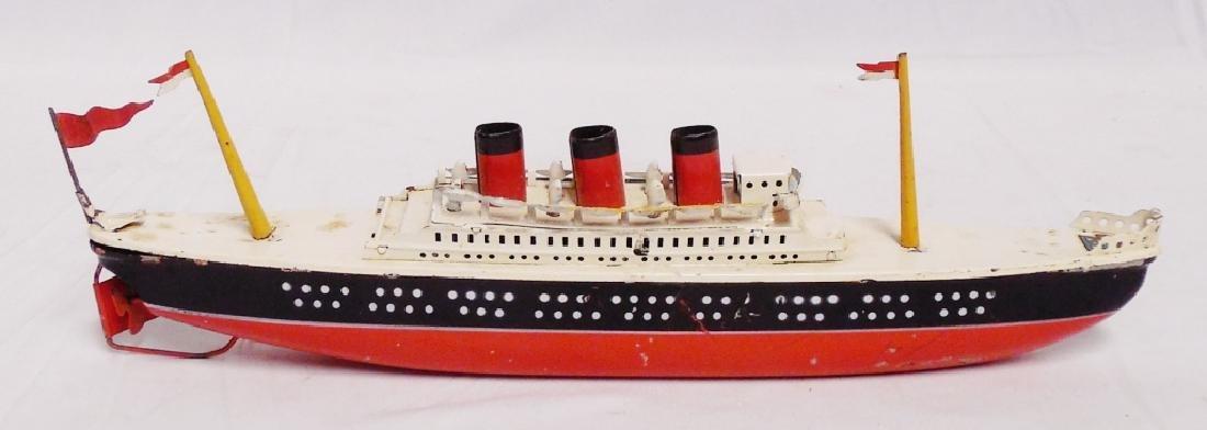 Arnold Tin Windup Ship