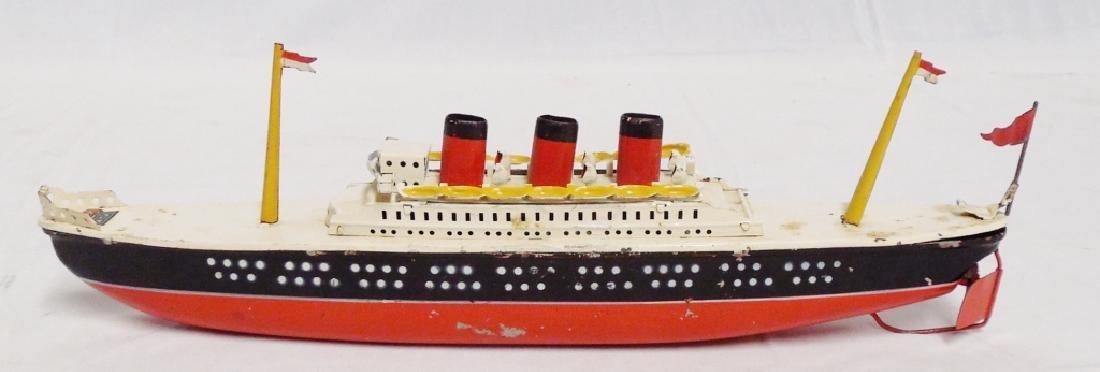 Arnold Tin Windup Ship - 2