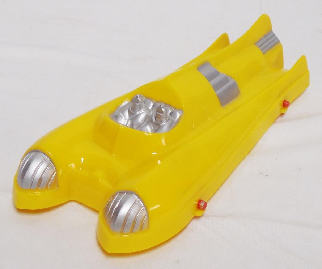 Plasticraft Spaceship on Wheels
