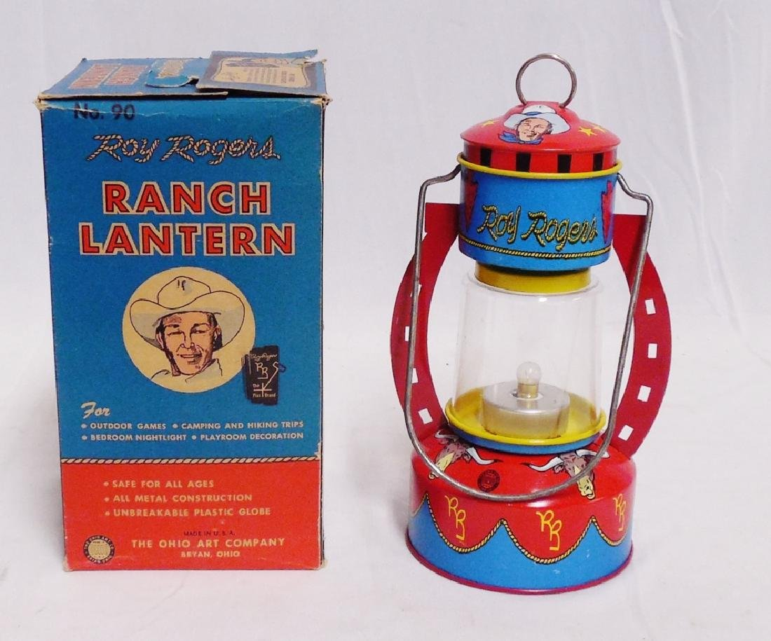 Battery Operated Roy Rogers Ranch Lantern