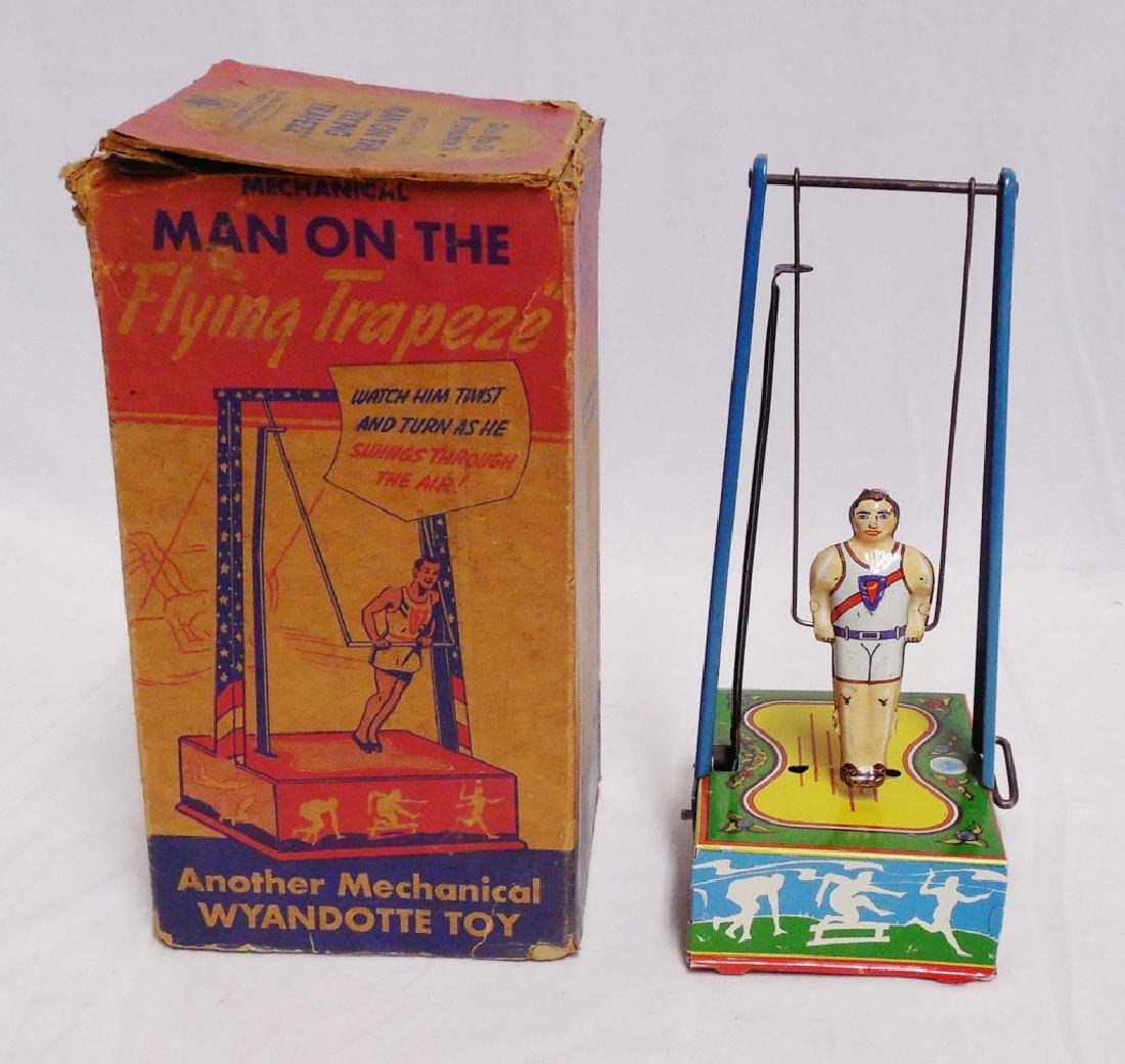 Mechanical Man on the Flying Trapeze