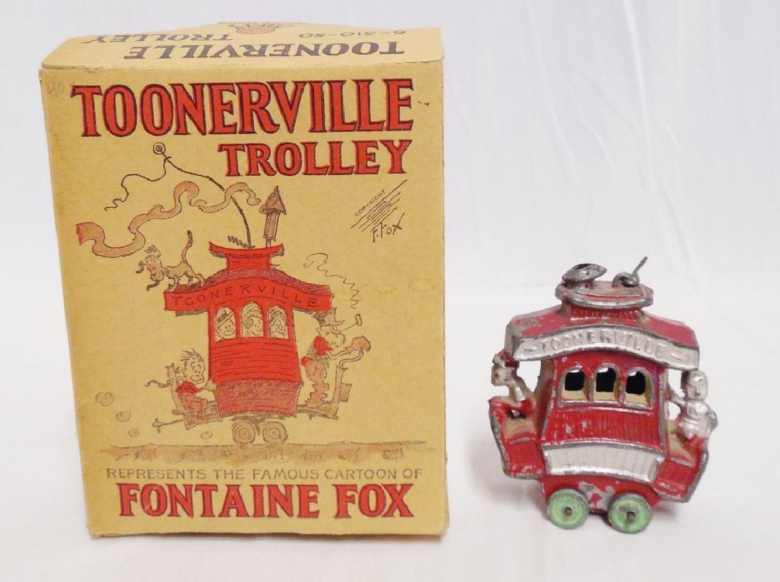 Toonerville Trolley Cartoon of Fontaine Fox