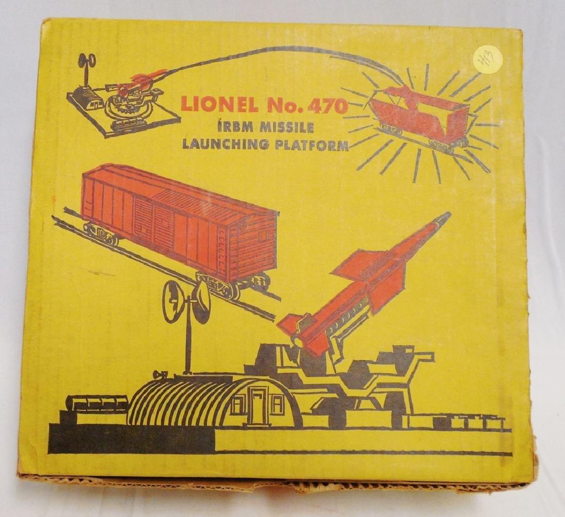 Lionel No 470 IRBM Missing Launching Platform