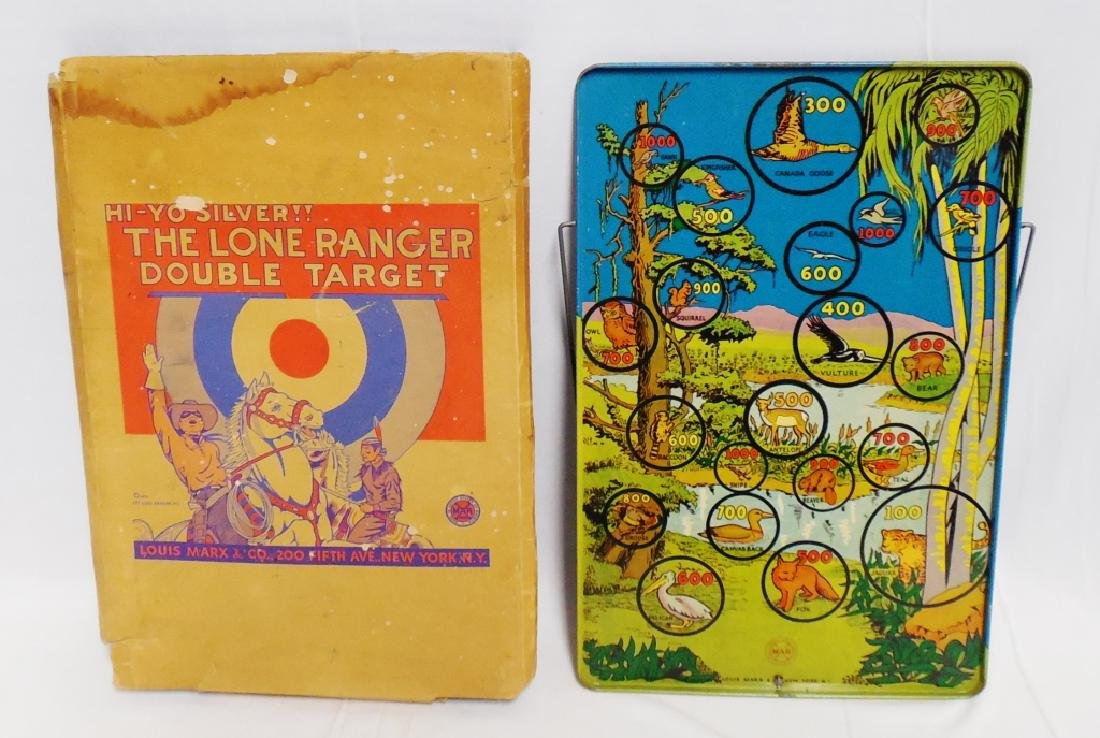 """The Lone Ranger Target Game"" by Marx"