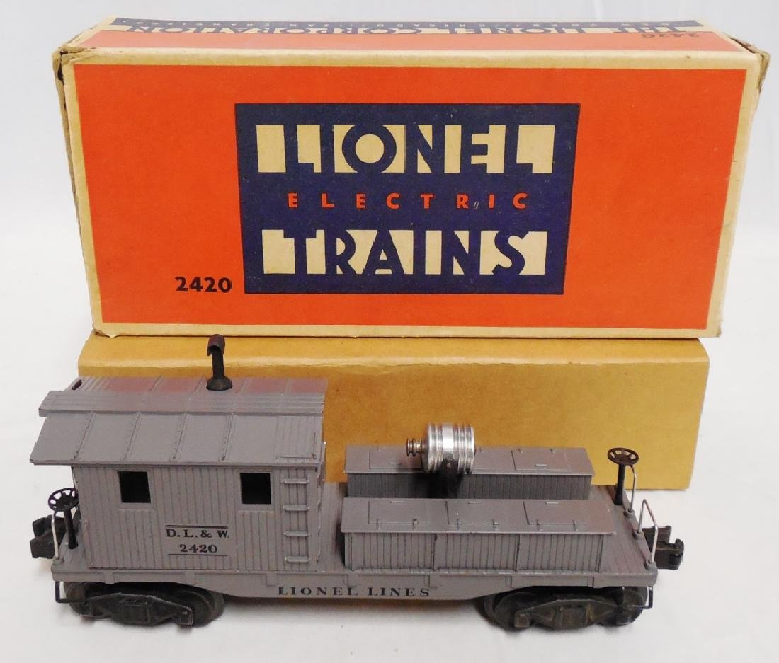 Lionel No 2420 Searchlight Wrecking Car