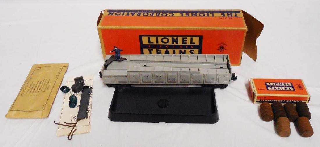 Lionel No 3562 Operating Barrel Car