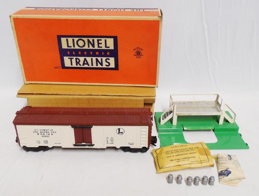 Lionel No 3662 Operating Milk Car