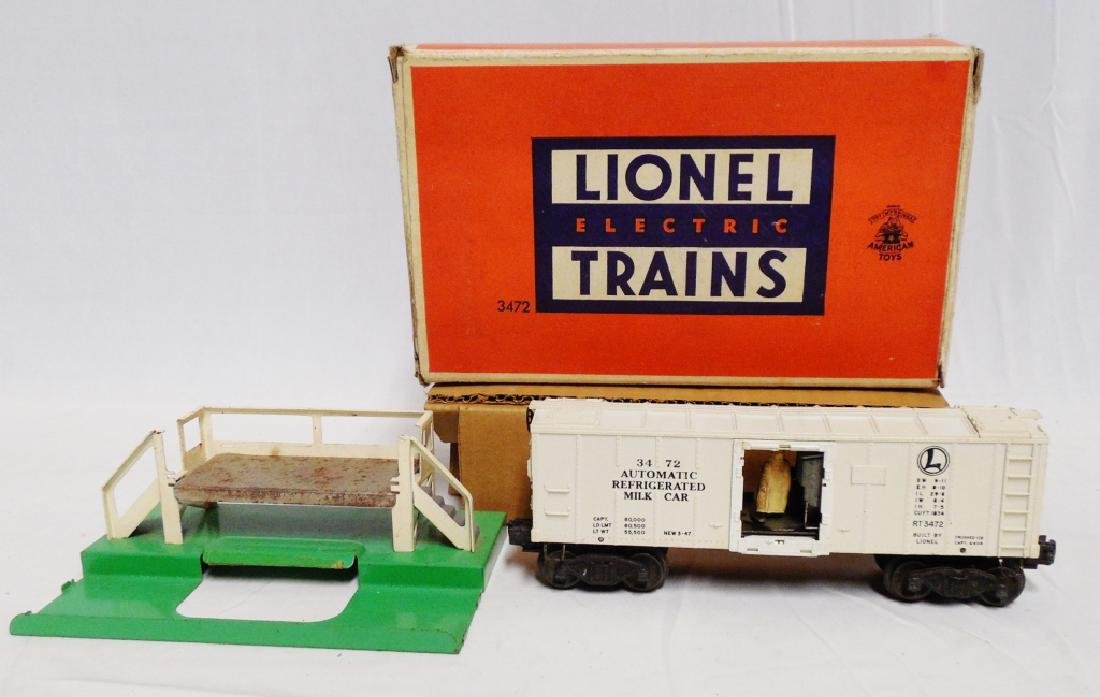 Lionel No 3472 Operating Milk Car