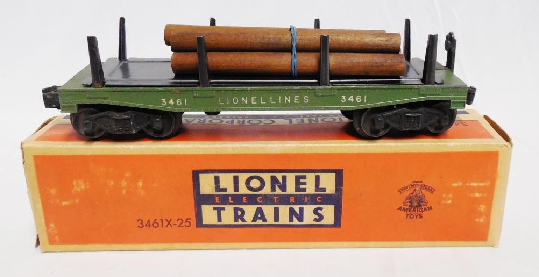 Lionel No 3461X Automatic Lumber Car