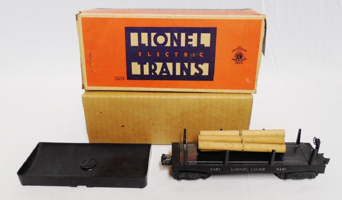 Lionel No 3451 Automatic Lumber Car