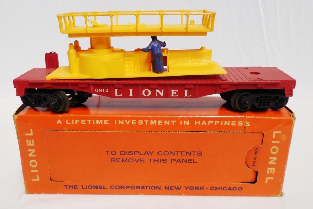 Lionel No 6812 Track Maintenance Car