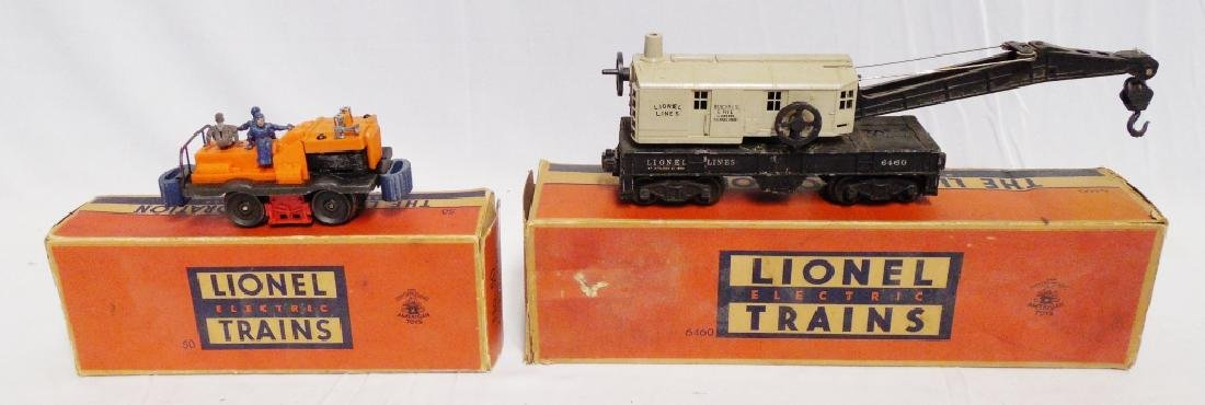 Lot of 2 Lionel Cars with Boxes