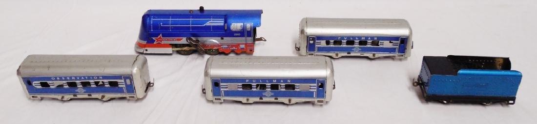 Tin Windup HaFner Railway Trainset