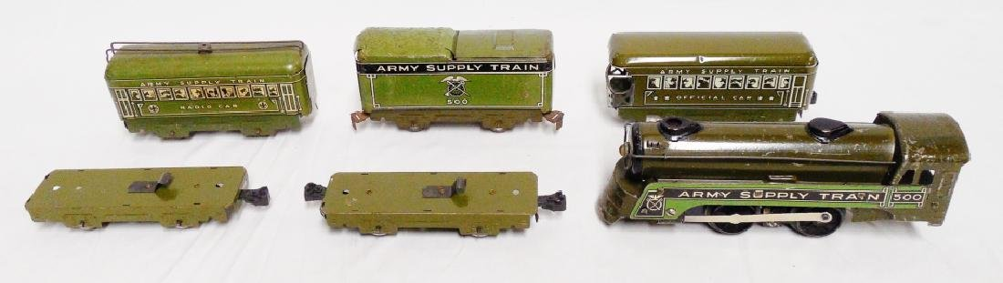 Marx Army Supply Train